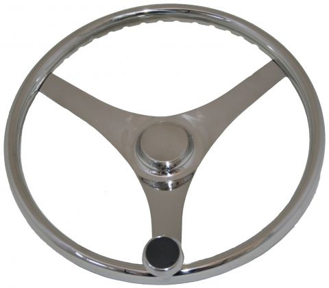 Stainless Steel Sports Wheels - With Control Knob