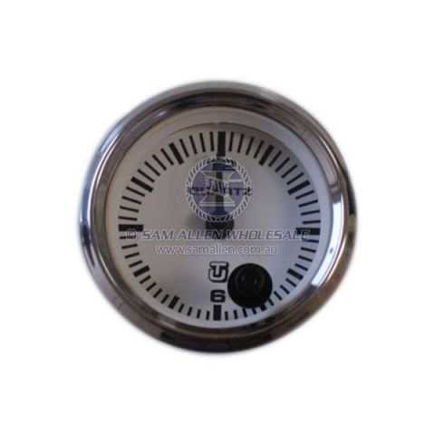 Marine Ultraflex Clock S/Steel