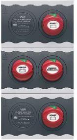 Contour Battery Distribution Cluster 2 O/B 3 Bat