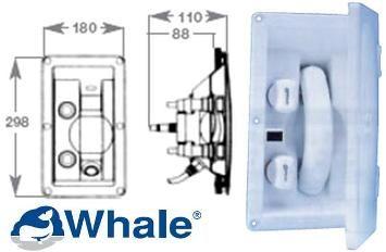 Marine Whale Mixer Swim-N-Rinse