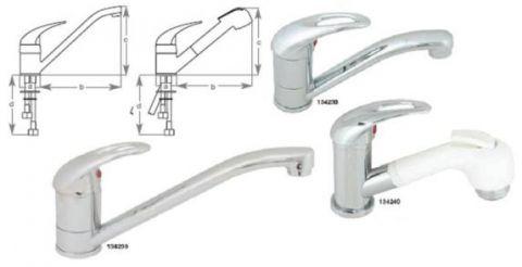 Capri Long swivel faucet