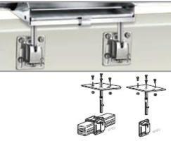 Square Rail/Side Mount Kit Dual Table
