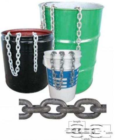 Short Link Gal Chain 25kg - 6mm