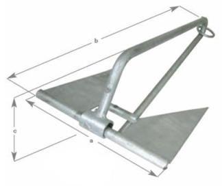 Slip Ring Sand Anchors 1.8kg to5.9kg