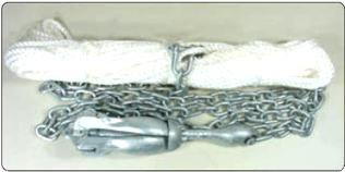 Folding Anchor Kits 1.5kg to 3.2kg