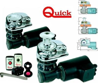 QUICK anchor Winches Vertical Anchor Winch - Aster 700 (25-50mm deck)
