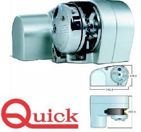 Quick anchor Winches Horizontal Winch ULTRA Genius G1000UF with FREEFALL
