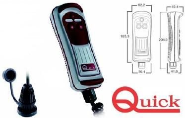 Quick Hand Held Remote Controls - with LED or without Lamp