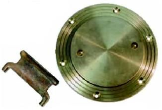 Deck Plate Bronze Chromed 174326