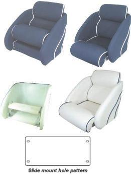 Pilot Seat Shell & Flip Up Mechanism