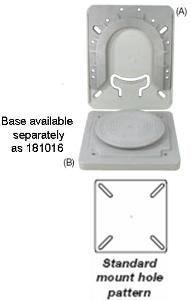 Universal Removable Seat Base (AB&C)
