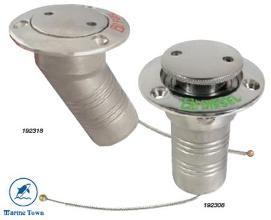 Deck Fillers 50mm Diesel-Water-Fuel-Waste 50mm 90Deg