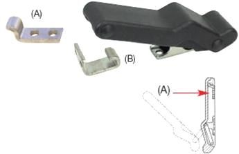 Cam Action Latches Right Angle (B)