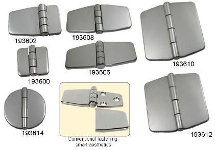 Stainless Steel Covered Hinge 66mm