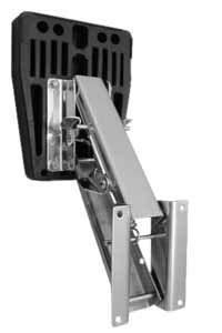 Outboard Motor Bracket - Stainless Steel 10hp