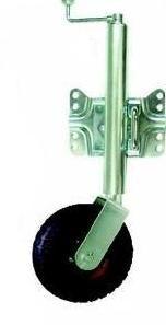 Jockey Wheel Swing Bracket - Pneumatic wheel