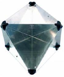 Octahedral Radar Reflector