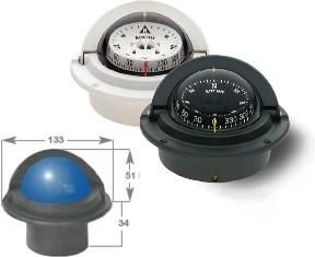 Marine Voyager Flush Mount Compass