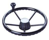Steering wheel Five Spoke S/S - 340mm