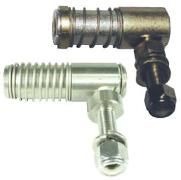 """Ball joint - 3/8""""and 1/2 UNF - gold passivated steel and Stainless"""