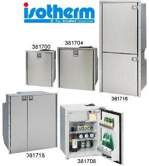 Boat fridge Stainless Steel Fridge 85 litre 381708