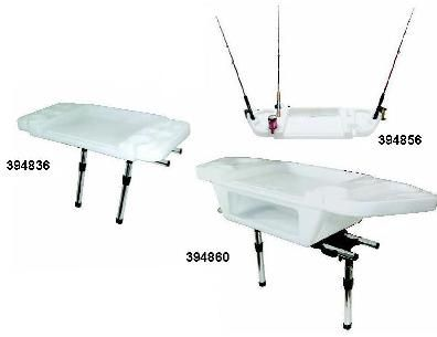 Large Deluxe Cutting/Bait Board & 4 Rod Slots