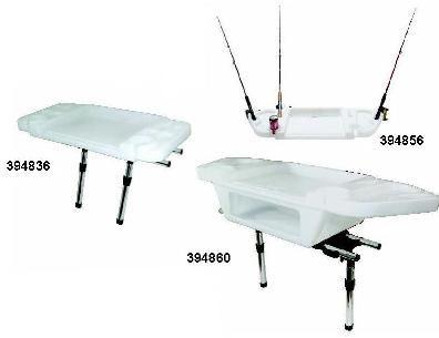Medium Deluxe Cutting/Bait Board & 2 Rod Slots