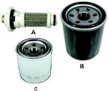 Oil Filter - Honda®/Yamaha Type