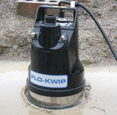 "FLO-KWIP 'Puddle Suckers'  240v/50HZ  in 1"" or 2"""