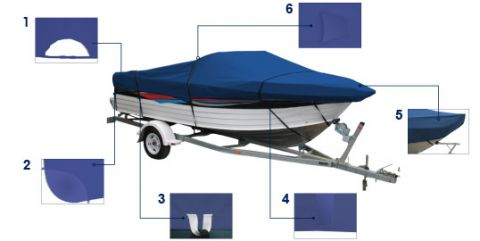 Ocean South Bowrider covers all sizes Trailerable