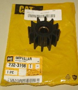 Caterpillar generic impeller to replace 232-3198