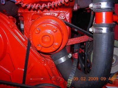 Ford Lehman Circulation pump