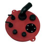Fuel lid manifold petrol diesel