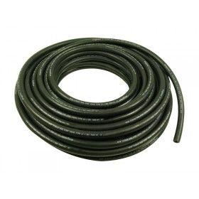 Fuel hose Black reinforced E10 resistance