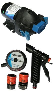 Jabsco boat marine pumps 15 LITRE Par-Max 4.0 High Pressure Deckwash  Kit  j20-138