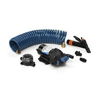 Jabsco boat marine pumps Par-Max 4 Deck wash kit with hose 15lpm. 32900-0092 j20-162