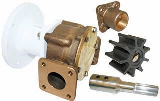 Jabsco Pumps Bronze pump head kit suit 240/110v motors j50-165 22880-2401