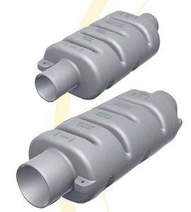 Marine Mufflers CAN SB 40mm to 102mm