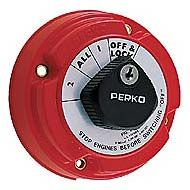 Perko Battery Selection Switch - Lockable 401112