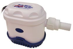 Marine RULE MATE automatic bilge pumps 500 to 1100 GPH