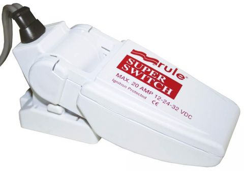 Bilge pumpFloat Switch Rule Superswitch 12-24v 20amp 37