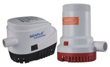 SEAFLO Bilge Pumps 500 to 3500 gph 12V and 24v 3 year warranty