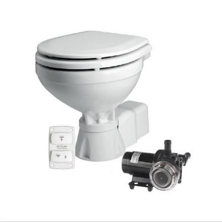 SPX Quiet Flush Toilets 12v 24v