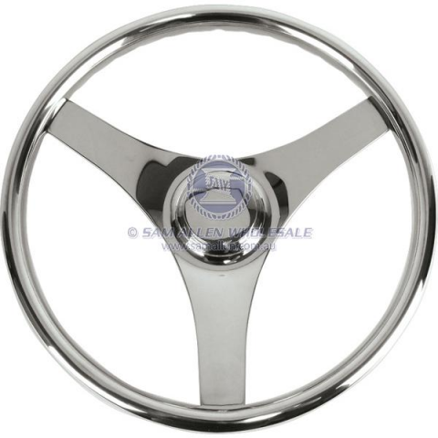 Steering wheels Three Spoke S/S  with or without knob